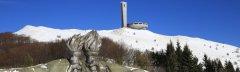 Busludscha-Denkmal, Berg Chadschi Dimitar